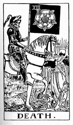 rider waite tarot black and white - Google Search