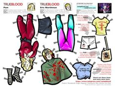"""Image detail for -True Blood"""" Paper Doll bonus and Grand Prize contest update!"""