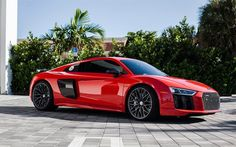 Audi red sports coupe, new Whiils, HRE, red Audi Audi R8 Sport, Audi Rs, Sport Cars, Caballero Andante, Red Audi, Best Luxury Cars, Trucks, Future Car, Car Wallpapers