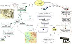 Mappa concettuale: Romani, le origini