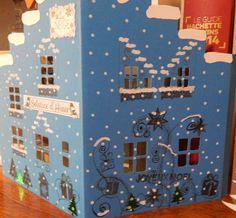 maison pour village de Noël