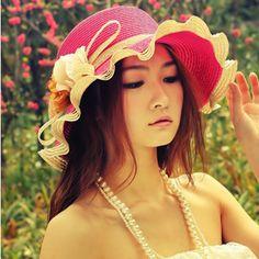 2013 Korean version of the new wave curling flower hat