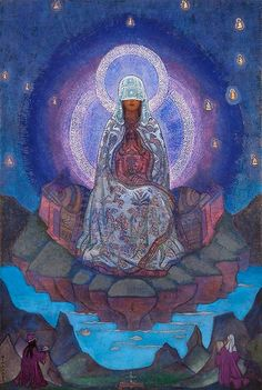 Mother of the World - Nicholas Roerich