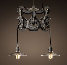 bar lighting - restoration hardware