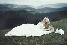 Surrealistické fotografie srbské krásky