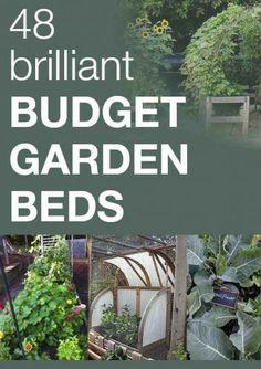 48 Brilliant Budget Garden Beds