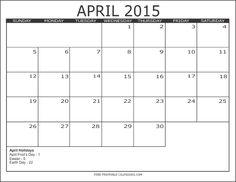 download april 2015 calendar word april 2015 holidays check more about 2015 april calendar