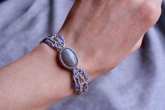 Macrame bracelet macrame jewelry bracelets by EarthCraftHandmade