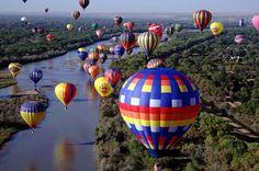 Festival Internacional de Balonismo de Albuquerque – De 05 à 13 de outubro em Albuquerque, no Novo México, EUA