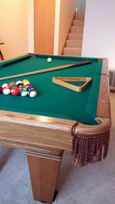 Brunswick Billiards Dakota Pool Table 7u0027 Sold