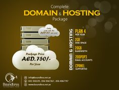 Boundless Technologies FZCO offers best packages in webhosting and domain hosting services in Dubai. Our hosting servers are much affordable and reliable. Dedicated and VPS hosting also provided with Cpanel and WHM options. We have best expertise in windows and Linux web hosting in UAE.
