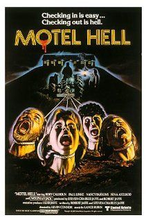 Motel Hell (1980), Camp Hill with Rory Calhoun and Paul Linke. Oh what a bad and strangely riveting flick this was.