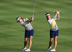 Golf Swing Perfect How to swing like six-time LPGA Tour winner Lydia Ko. Golf Swing Speed, Overhead Tricep Extension, Lpga Tour, Golf Instructors, Golf Score, Perfect Golf, Golf Lessons, Play Golf, Golf Tips