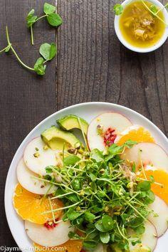 Jicama And Orange Salad With Citrus-Cumin Vinaigrette Recipe ...