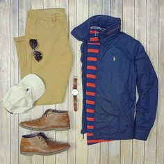 Love the orange and blue tops along with these brown shoes :mans_shoe::fire:  Follow for more: @votrends :white_check_mark:  Outfit by:camera:: @iumarkhan #flatlay #flatlays #flatlayapp www.theflatlay.com