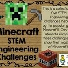 Most elementary and middle school students are crazy about Minecraft, so I have decided to create a STEM challenge pack based on this popular game....