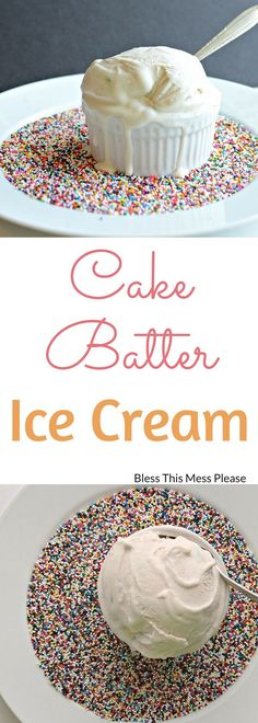 Homemade Cake Batter
