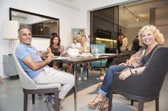 Un altro grande evento da Spazio360Firenze per inaugurare il nuovissimo spazio PORCELANOSA .  Ben oltre mille ospiti hanno partecipato alla serata, accompagnata da un cocktail & cooking show con specialità della cucina spagnola.   Nell'occasione è stata presentata la collezione di opere d'arte della pittrice Grazia Danti, con un delizioso vernissage curato da Gaggenau.  Una serata di fine estate all'insegna del design, dell'arte e della bellezza in ogni sua espressione.