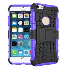For iPhone 6 6S Rugged Tire Armor Defender Case Hybrid TPU&PC Shell Stand Shockproof Cover For iPhone 6 6S 4.7 Inch