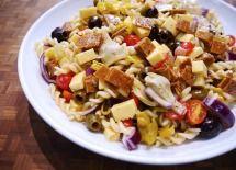 #FieldRoast Vegan Antipasto Salad Recipe with Chao Cheese Slices - Yum.