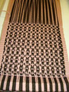 Los tejidos - Técnica mapuche