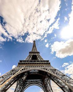 "Eiffel Tower Addict ❤️ on Instagram: ""Let magic happen in Eiffel Tower ❤ NEW : Stop wasting money on your hotels bookings in France ☺ Visit unlimitedfrance.com☺ Best price…"" Tour Eiffel, Gustave Eiffel, Tours, Destruction, Paris France, Cool Pictures, Beautiful Places, Let It Be, Shit Happens"