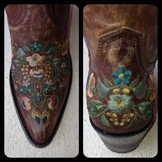 Old Gringo Sora Bras Teal Cowgirl Boots at RiverTrail in North Carolina.