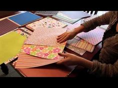 Making Paper Kits from your stash for scapbook LO, cards, and other paper craft projects. Excellent self-help video.