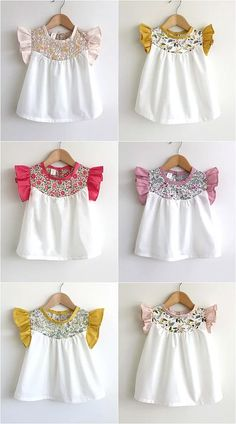 36f49d726624 Latest Baby Cotton Frocks And Shirts Design And Styles 2017-2018 ...