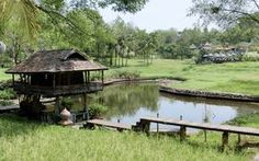 Rice barn at 5 star hotel: Four Seasons Resort Chiang Mai. This hotel's address is: Mae Rim-Samoeng Old Road Mae Rim Chiang Mai and have 98 rooms Cabana, House Boat Kerala, Villas, Hut House, Dreams Resorts, Jungle House, House On Stilts, Bamboo House, Weekend House