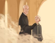 Lucius and Draco Malfoy by *makani on deviantART