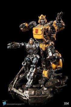 Transformers News: XM Studios Reveals Badass Statue of Bumblebee and Spike Transformers Collection, Transformers Movie, Transformers Masterpiece, Sideshow Collectibles, Girl Cartoon, A Team, Badass, Sci Fi, Comics