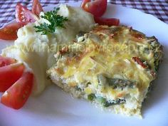 Lázeňské filé Quiche, Potato Salad, Mashed Potatoes, Food And Drink, Homemade, Breakfast, Ethnic Recipes, Fit, Whipped Potatoes