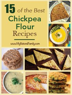 15 best chickpea flour recipes Gluten free and grain free!