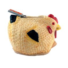Matilda's music teacher carries her egg shakers in a chicken purse. I love it and want it.