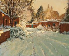 Irby Brown, Magical Morning, oil, 30 x 36.