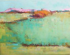 Mangu Hill Original oil landscape on canvas 14 x 18 by ChanceLee