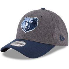 best sneakers b6822 2928c Men s Memphis Grizzlies New Era Heathered Gray Navy 39THIRTY Flex Hat, Your  Price   29.99