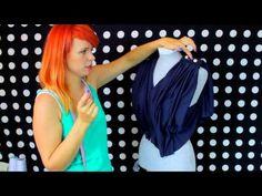 Zrób to Sama - jak uszyć sukienkę z dzianiny, sukienka na ślub [Coza Szycie] - YouTube
