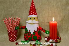 Ken on heistä komein tonttu, äänestä ja voita ⋆ Taikalandia Christmas Decorations, Christmas Ornaments, Holiday Decor, Christmas Ideas, Gnome, Handmade Crafts, Birthday Candles, Gifts, Etsy
