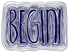 Begin! Encouraging Hand Lettering by April V. Waltesr