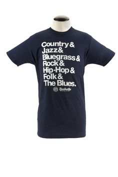Project 615 Nashville Music City Genres Tee