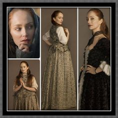 Geillis Duncan--character in Outlander TV series on Starz coming August 2014.