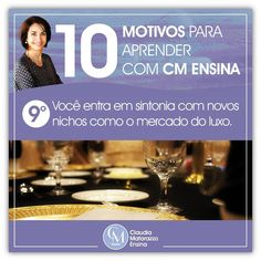 Claudia Matarazzo - Cursos EAD  Sintoniza você no melhor do mercado do luxo #claudiamatarazzoensina