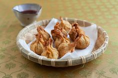Fried Wontons: would absolutely make again. These were good, even without any dipping sauce