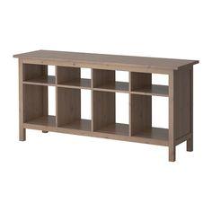 HEMNES Sofa table IKEA Solid wood has a natural feel.