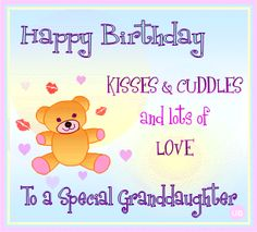 Happy Birthday: Kisses & Cuddles and lots of LOVE