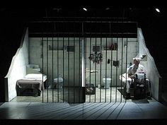 Coyote on a Fence by Bruce Graham. Set design by Ruth Neeman.