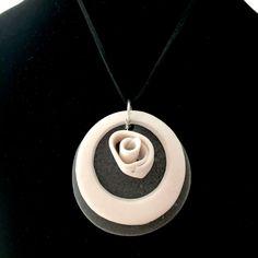 Washer Necklace, Porcelain, Pottery, Earth, Jewelry, Ceramica, Porcelain Ceramics, Jewlery, Jewerly