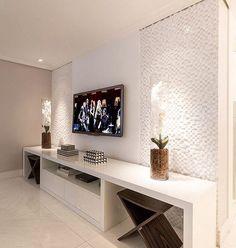 Ideas living room tv wall apartment tv consoles for 2019 Living Room Tv, Living Room Modern, Living Room Interior, Living Room Designs, Muebles Living, Tv Wall Decor, Home Furniture, Interior Design, Home Decor